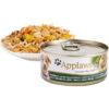 Thức ăn cho chó trưởng thành Applaws Tin with Chicken, Beef Liver & Vegetables Adult 156g