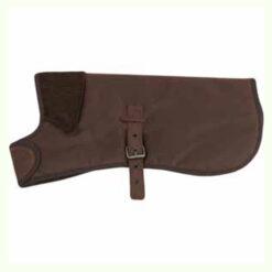 Áo cho chó Earthbound Premium Wax Cotton Dog Coat Brown