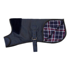 Áo cho chó Earthbound Premium Wax Dog Coat Navy