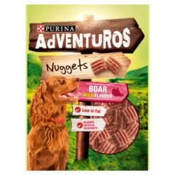 Bánh thưởng cho chó Adventuros Nuggets Boar Flavour