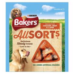 Bánh thưởng cho chó Bakers Allsorts Chicken and Beef