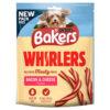 Bánh thưởng cho chó Bakers Whirlers Bacon and Cheese