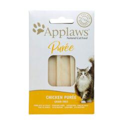 Bánh thưởng cho mèo Applaws Chicken Puree