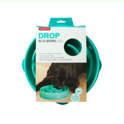 Bát ăn cho chó Dog Games Drop Slo-Bowl Drop