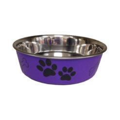 Bát ăn cho chó mèo Bella Bowl Purple