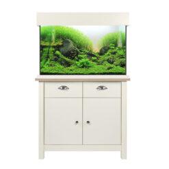 Bể cá cảnh kèm tủ Aqua One Oakstyle Shades Soft White Aquarium and Cabinet