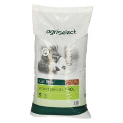 Cát cho mèo Agriselect Woodpellets Recycled Wood Cat Litter
