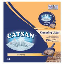 Cát vệ sinh cho mèo Catsan Clay Fine Granule Ultra Clumping Cat Litter
