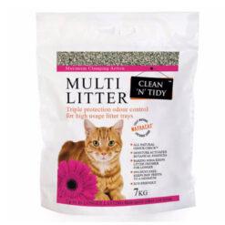 Cát vệ sinh cho mèo Clean 'n' Tidy Clay Fine Granule Ultra Clumping Multi Cat Litter