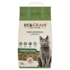 Cát vệ sinh cho mèo EcoGrain Oat Husk Pellet Non Clumping Cat Litter