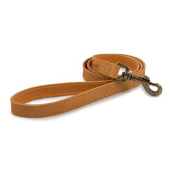 Dây dắt chó Ancol Timberwolf Tan Leather Dog Lead