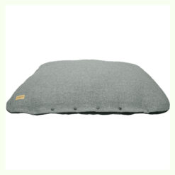 Đệm cho chó Earthbound Flat Tweed Dog Cushion Steel Grey