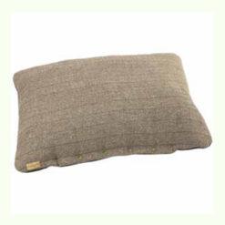 Đệm cho chó Earthbound Tweed Flat Dog Cushion Beige