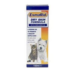 Dinh dưỡng cho chó mèo ExmaRid Dry Skin Formula with Starflower Oil