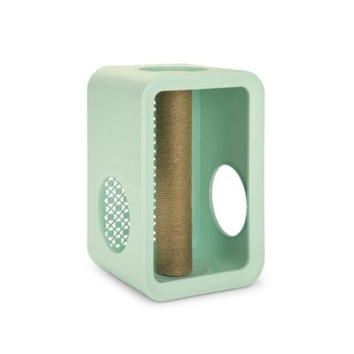 Đồ cào móng cho mèo Beeztees Scratch Cat Cube Mint
