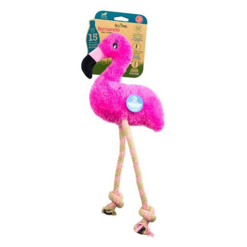 Đồ chơi cho chó Beco Rough and Tough Fernando The Flamingo Soft