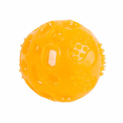 Đồ chơi cho chó Dog Walk Rubber Light Up Glow Ball Dog Toy Orange