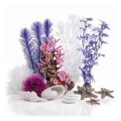 Đồ trang trí bể cá BiOrb Decor Aquarium Ornament Set Pink