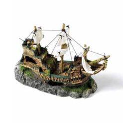 Đồ trang trí bể cá Classic Galleon with Sails Aquarium Ornament