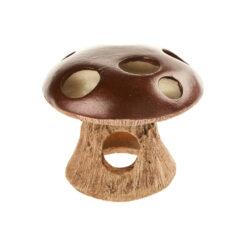 Đồ trang trí bể cá Classic Mushroom with Swim through Aquarium Ornament