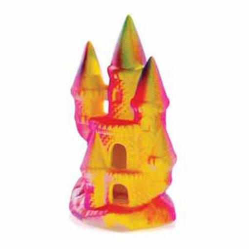 Đồ trang trí bể cá Classic Neon Castle Polyresin Aquarium Ornament