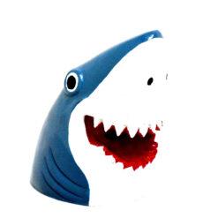 Đồ trang trí bể cá Classic Shark Head Aquarium Ornament
