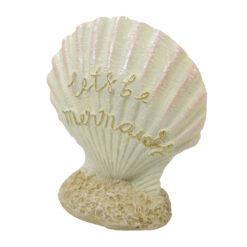 Đồ trang trí cho bể cá Aqua Town Mermaid Shell Aquarium Ornament