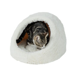 Nệm cho mèo Baby Bea Cream Hooded