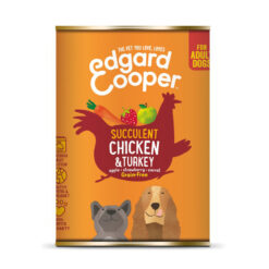 Pate cho chó Edgard Cooper Grain Free Chicken and Turkey Wet