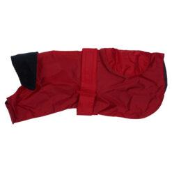 Quần áo cho chó Barbour Waterproof Pack Away Red