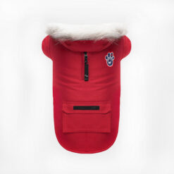 Quần áo cho chó Canada Pooch Winter Wilderness Dog Coat Red