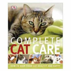 Sách dạy cách chăm mèo DK Complete Cat Care How to Keep Your Cat Healthy