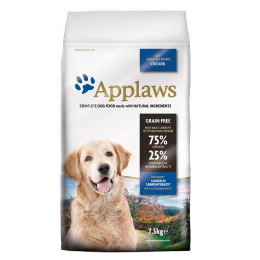 Thức ăn cho chó Applaws Dry All Breed Adult Light Chicken