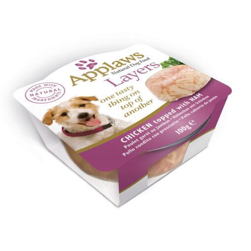 Thức ăn cho chó Applaws Layers Chicken with Ham