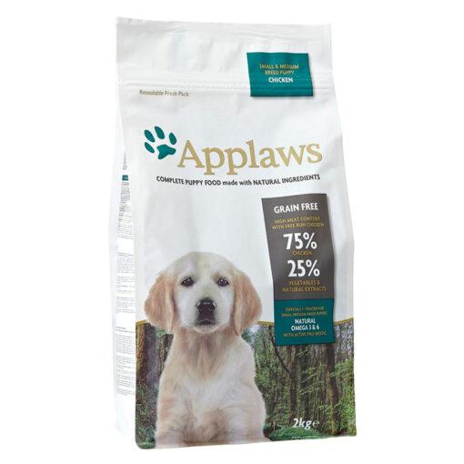 Thức ăn cho chó Applaws Puppy Chicken Small and Medium Breed
