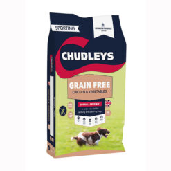 Thức ăn cho chó Chudleys Grain Free Working Adult Dog Food Chicken and Vegetables