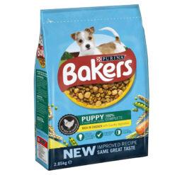 Thức ăn cho chó con Bakers Puppy Chicken and Veg