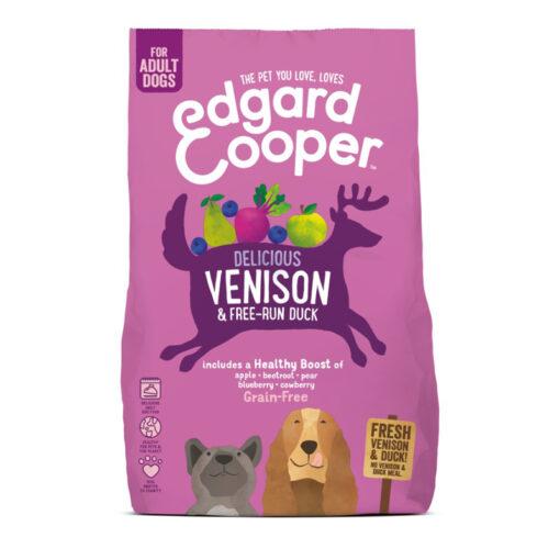 Thức ăn cho chó Edgard Cooper Grain Free Fresh Venison and Duck