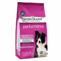 Thức ăn cho chó trưởng thành Arden Grange Performance Dry Adult with Fresh Chicken and Rice