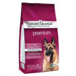 Thức ăn cho chó trưởng thành Arden Grange Premium Dry Adult Rich In Fresh Chicken and Rice