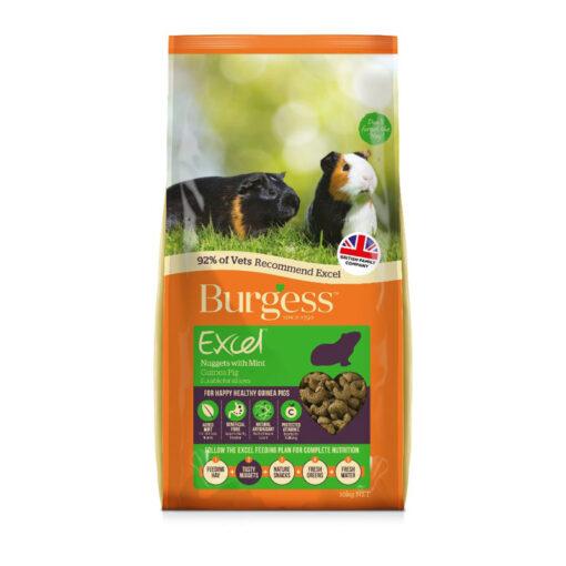 Thức ăn cho chuột Burgess Excel Adult Nuggets Guinea Pig Food
