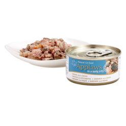 Thức ăn cho mèo Applaws Sardine with Shrimp in Jelly Tin