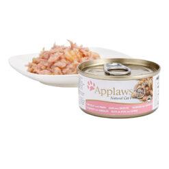 Thức ăn cho mèo Applaws Tuna and Prawn Tin