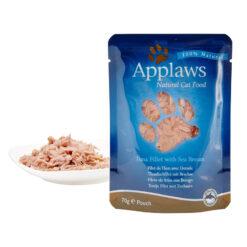 Thức ăn cho mèo Applaws Tuna and Seabream Pouch