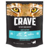 Thức ăn cho mèo Crave Complete Dry Adult Cat Food with Salmon and Fresh Whitefish