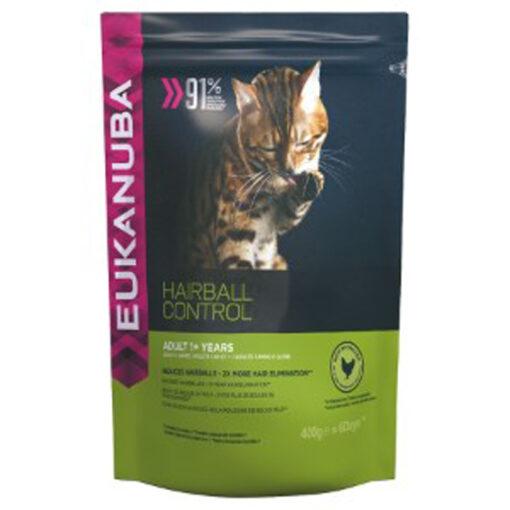 Thức ăn cho mèo Eukanuba Hairball Control Adult For Indoor