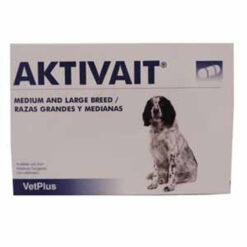 Thuốc bổ cho chó Aktivait Capsules Breed Blister Pack