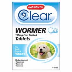 Thuốc tẩy giun cho chó con Bob Martin Puppy Dewormer Tablets