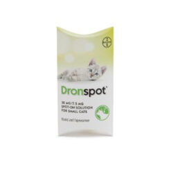 Thuốc tẩy giun cho mèo Dronspot Spot-On Cat Worming Treatment for Small Cats