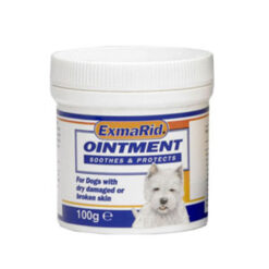 Thuốc thú y cho chó ExmaRid Ointment 100g for Dogs with Dry, Damaged or Broken Skin